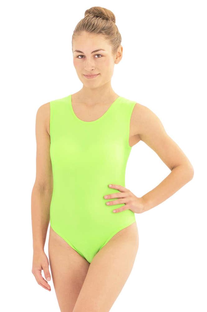 482be2993d Damen Body ohne Ärmel Rundhals - Elastische Sportbekleidung von ML ...