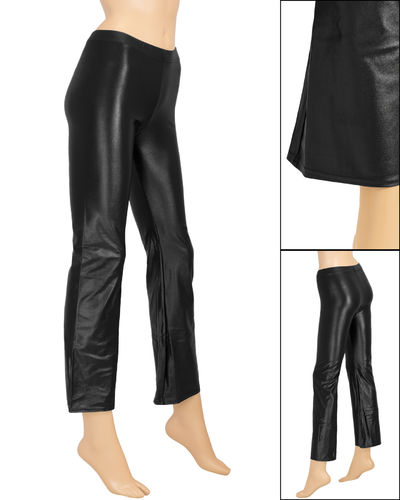 Damen Wetlook Jazzpant