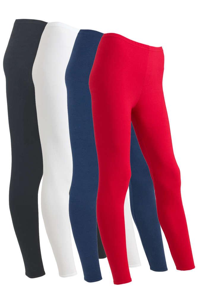 91a2dca5741890 Damen Leggings aus elastischer Baumwolle - Elastische ...