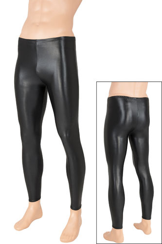 Herren Wetlook Leggings